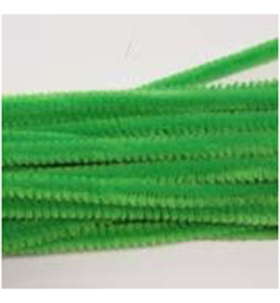 52932 Hobby Crafting Fun Chenille Light Green 20pcs / 6mm x 30cm (12271-7113).