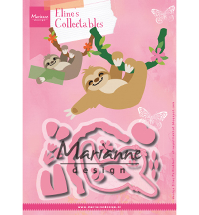 53034 Marianne Design Collectable Elines Sloth (COL1471).