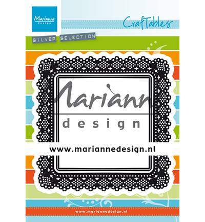 53313 Marianne Design Craftable Shaker Square (CR1475).