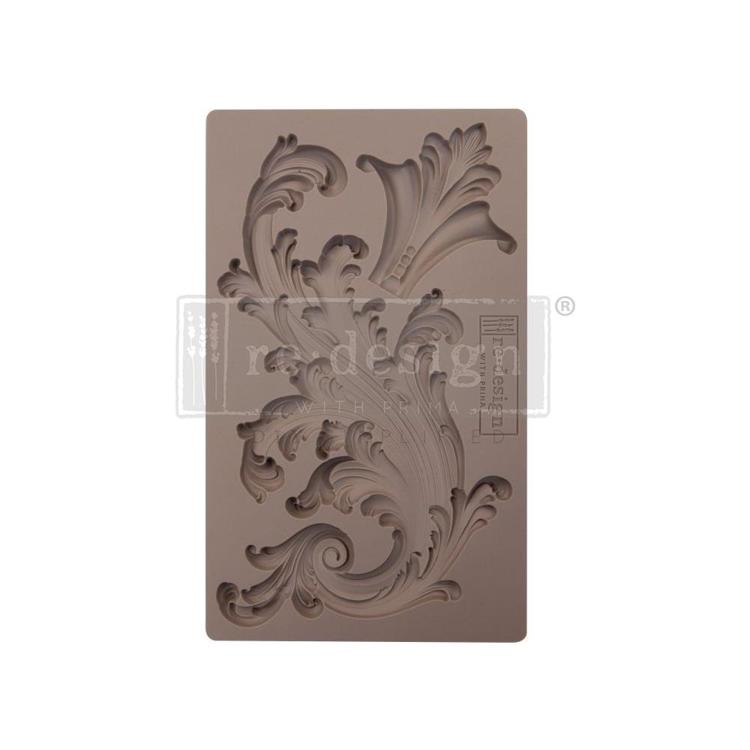 "53373 Prima Marketing Re-Design Mould 7.5""X4.5""Portico Scroll 2 (641153)."