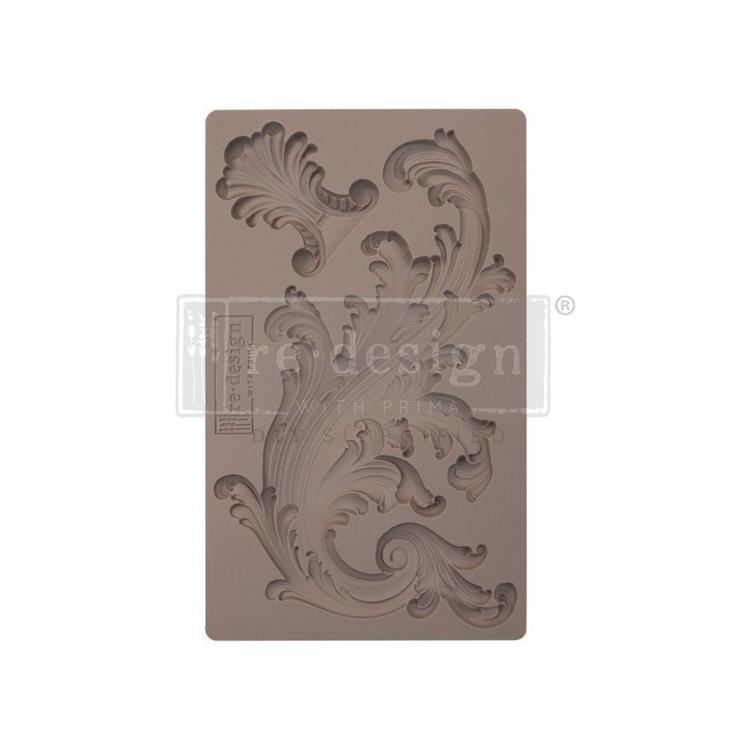 "53374 Prima Marketing Re-Design Mould 7.5""X4.5""Portico Scroll 1 (641146)."