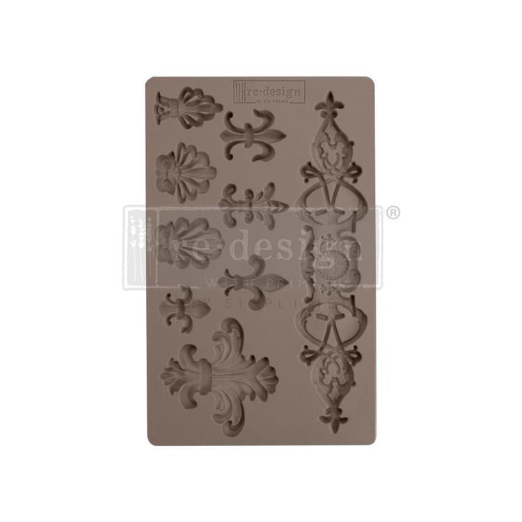 "53376 Prima Marketing Re-Design Mould 7.5""X4.5"" Fleur De Lis (637149)."