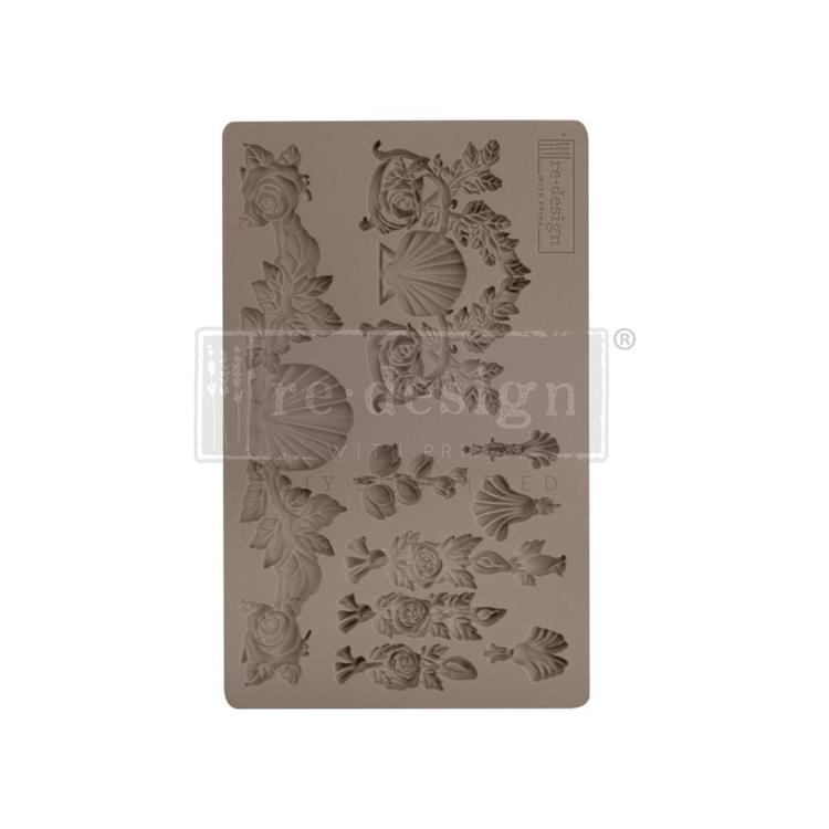 "53378 Prima Marketing Re-Design Mould 7.5""X4.5"" Seawashed Treasures (637132)."