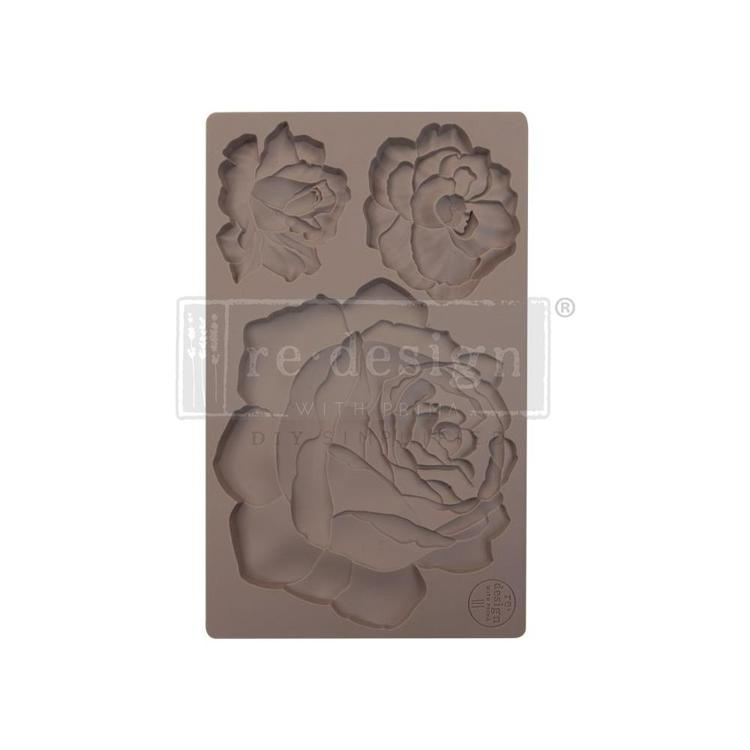 "53379 Prima Marketing Re-Design Mould 7.5""X4.5"" Etruscan Rose (640989)."