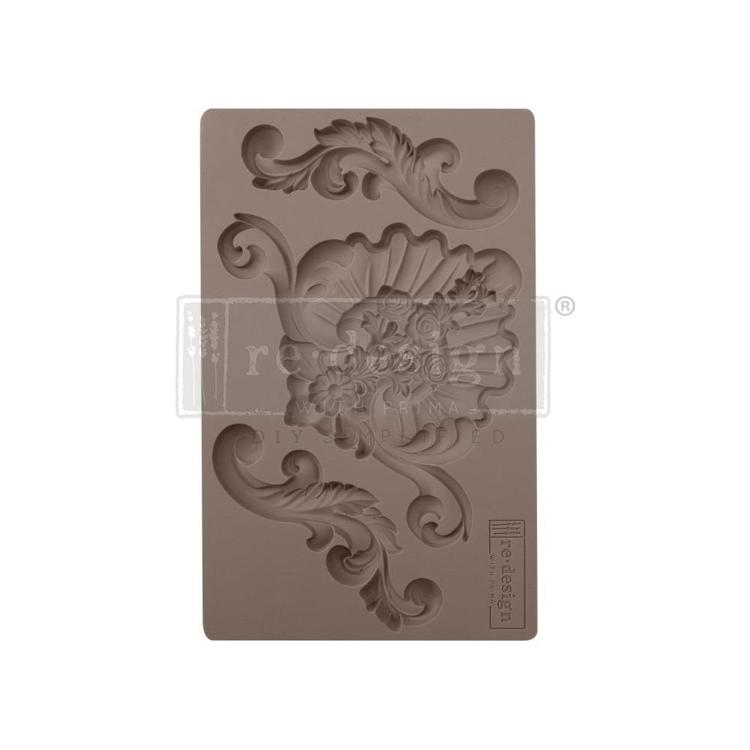"53381 Prima Marketing Re-Design Mould 7.5""X4.5"" English Garden (641085)."