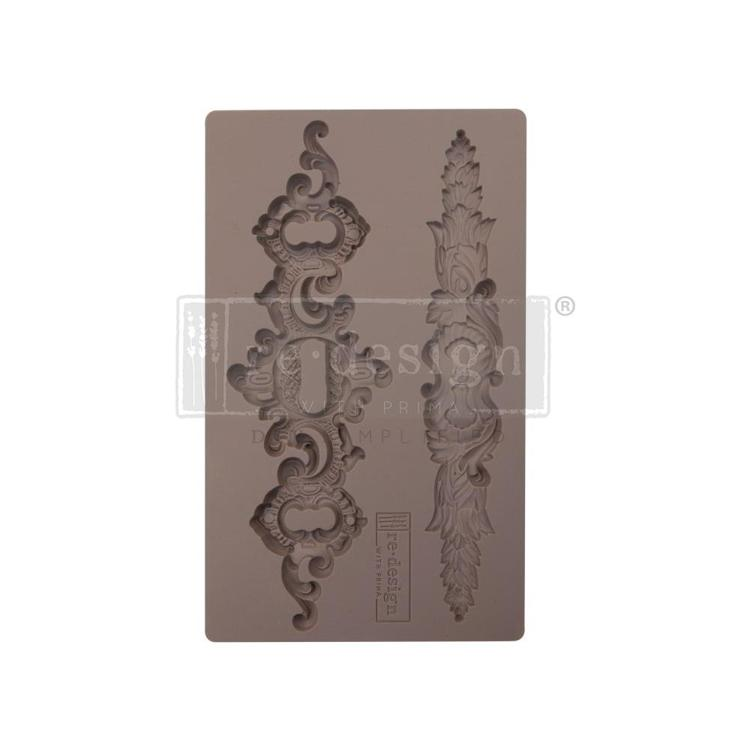 "53382 Prima Marketing Re-Design Mould 7.5""X4.5"" Sicilian Plates (641023)."