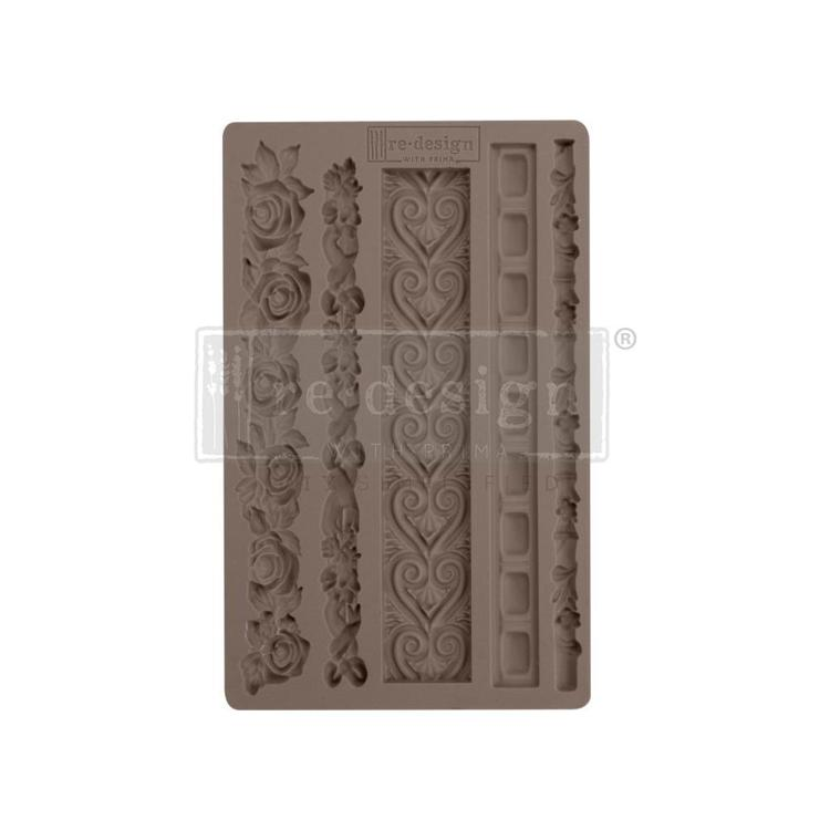 "53385 Prima Marketing Re-Design Mould 7.5""X4.5"" Elegant Borders (637163)."