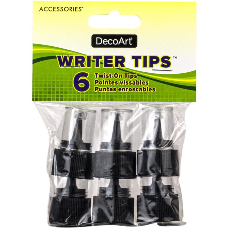 53637 DecoArt Accessories Writer Tips 6/Pkg.