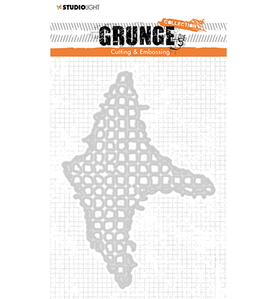 53673 Studio Light  Cutting and Embossing Die, Grunge Collection 3.0, nr.225 (STENCILSL225 ).