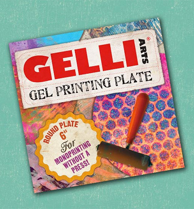 53802 Gelli Printing Plate Rond (15.24cm rond / 6 inch round).