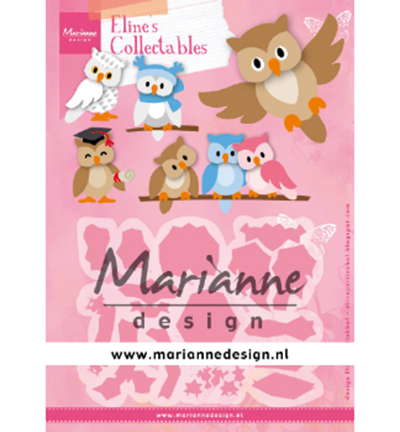 53864 Marianne Design Collectable Eline's Owl (COL1475).