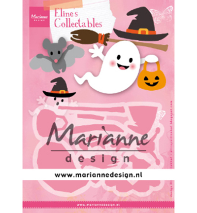 53866 Marianne Design Collectable Eline's Halloween (COL1473).