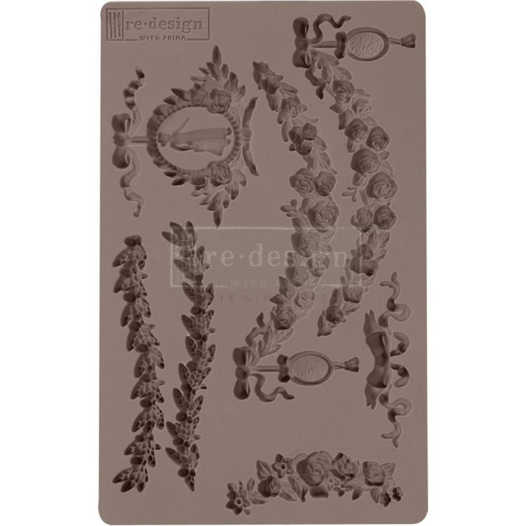 "53901 Prima Marketing Re-Design Mould 5""X8""X8mm Madame Garland (636357)."