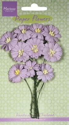 54130 Marianne Design Daisies Light Lavender (RB2254).