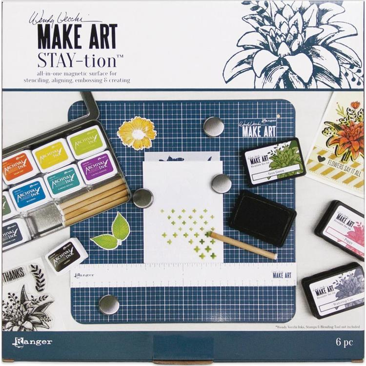 54315 Ranger Wendy Vecchi MAKE ART Stay-tion All-In-One Magnetic Surface.