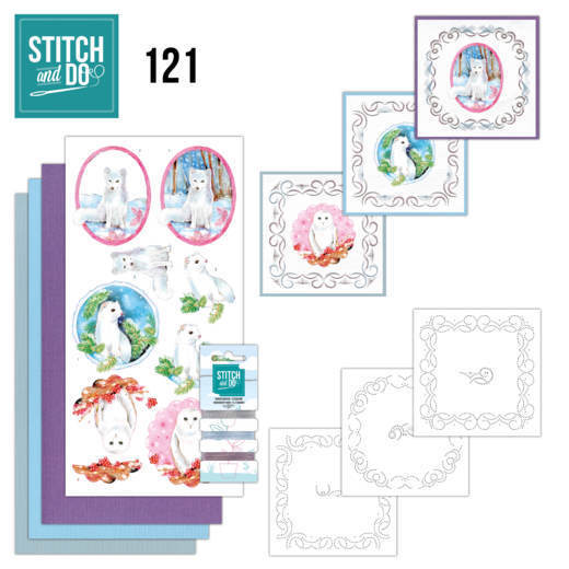 54467 Stitch and Do 121 - Winter Friends.