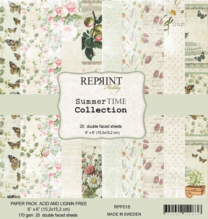 54505 Reprint Reprint Summer Time 6x6 Inch Collection Pack (RPP018).