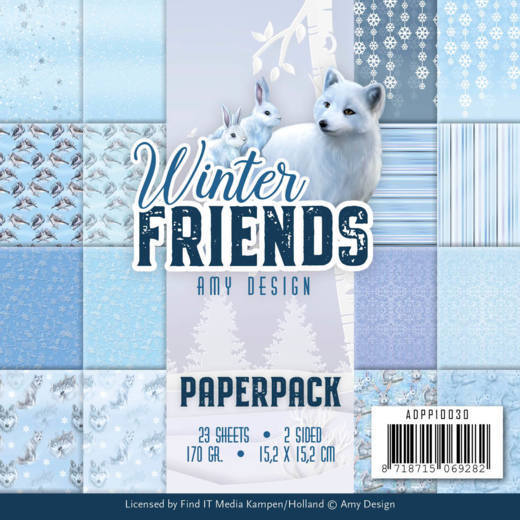54577 Paperpack - Amy Design - Winter Friends (ADPP10030).