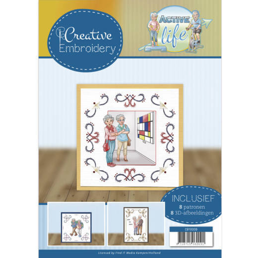 54714 Creative Embroidery 9 - Yvonne Creations - Active Life (CB10009).