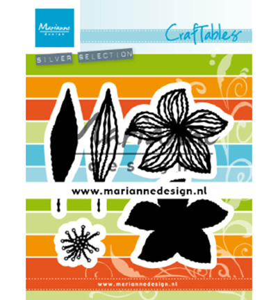 54817 Marianne Design Craftable Open Flowers (CR1493).