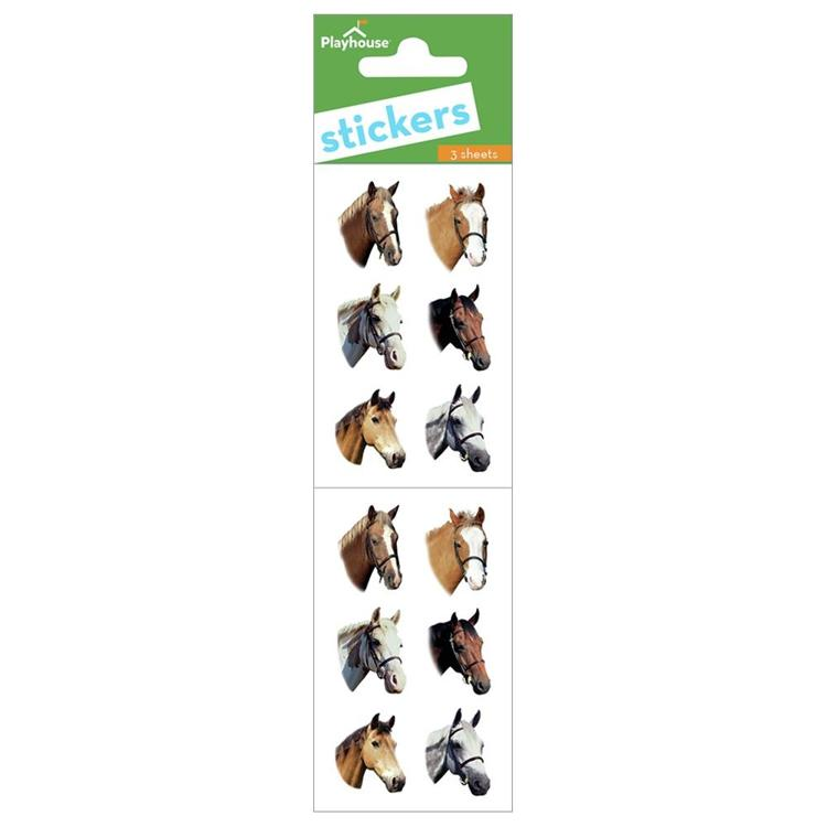 54863 Paper House Stickers Horses.