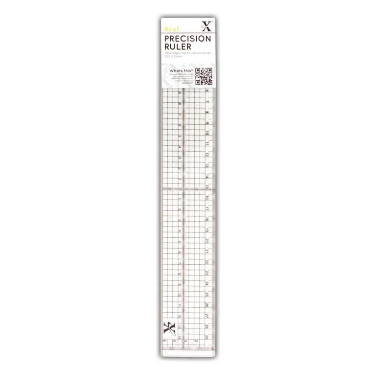 55035 Xcut 30cm Precision Ruler (Metal Edge Inlay) (XCU 255301).