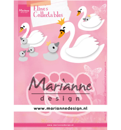 55080 Marianne Design Collectable Eline's Swan (COL1478).