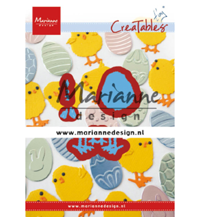 55088 Marianne Design Creatable Tiny's Easter Chick  (LR0644).