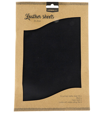55215 Studio Light Fake Leather Sheets nr.04 2x A4 (FLSSL04).