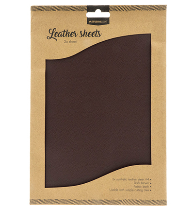 55216 Studio Light Fake Leather Sheets nr.03 2x A4 (FLSSL03).