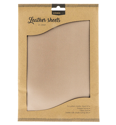 55218 Studio Light Fake Leather Sheets nr.01 2x A4 (FLSSL01).