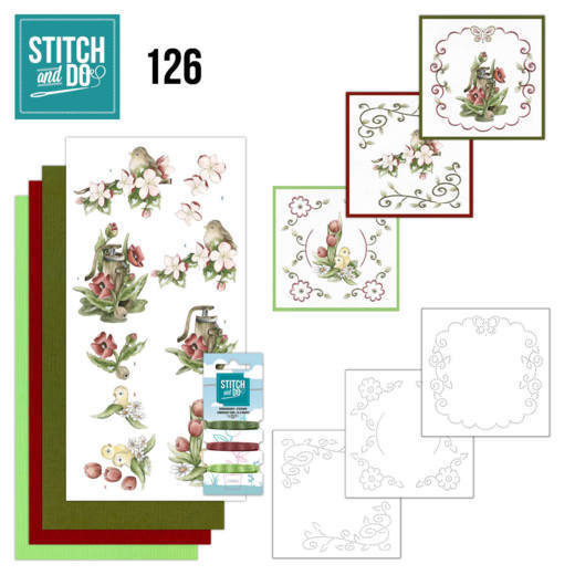 55263 Stitch and Do 126 - Spring Delight.