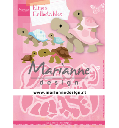 55411 Marianne Design  -Collectable Eline's Turtles (COL1480).