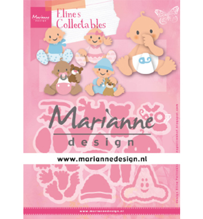 55412 Marianne Design  -Collectable Eline's Babies (COL14879).