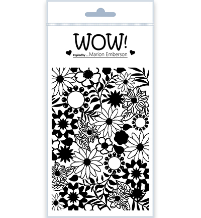 55499 Wow Clearstamps Blossom (by Marion Emberson) (STAMPSET53).