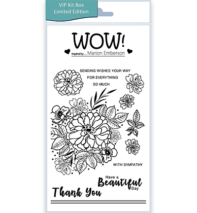55500 Wow Clearstamps Beautiful (by Marion Emberson) (STAMPSET52).