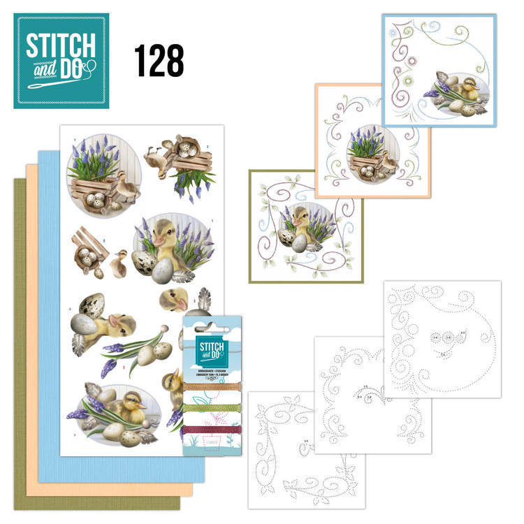 55579 Stitch and Do 128 - Amy Design - Botanical Spring.