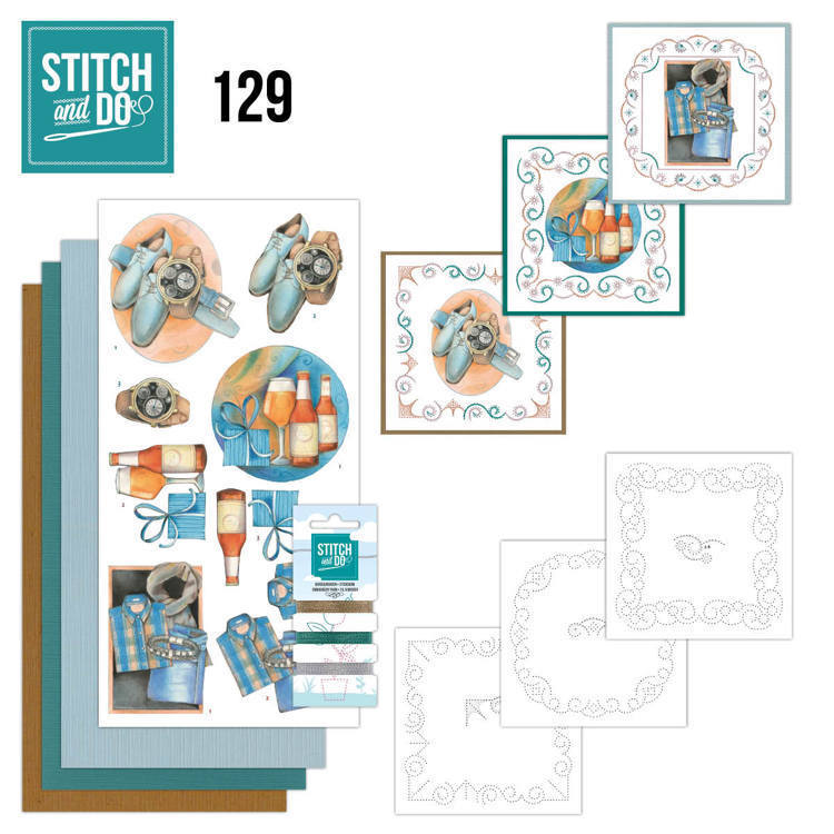 55580 Stitch and Do 129 - Jeanine's Art - Gifts for Men.