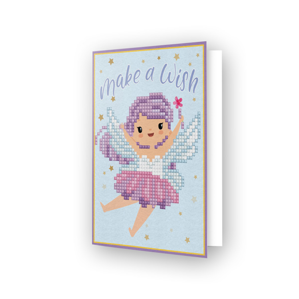 55674 DDG.011 Diamond Dotz® - Greeting Card MAKE A WISH.
