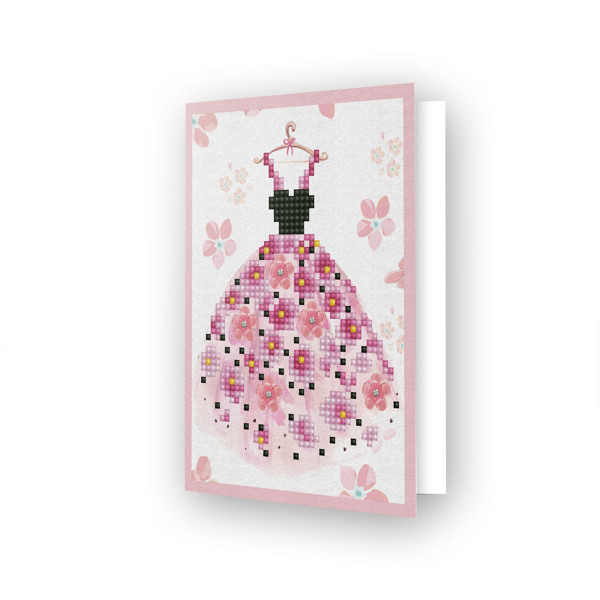 55675 DDG.018 Diamond Dotz® - Greeting Card PARTY TIME.
