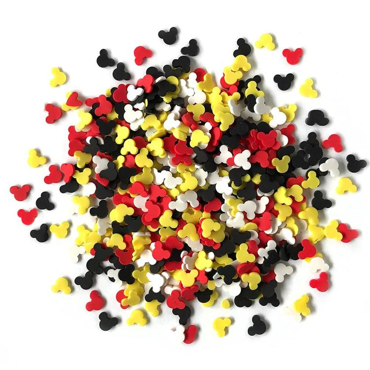 55710 Buttons Galore Sprinkletz Embellishments 12g Mouse Ears (NK109).