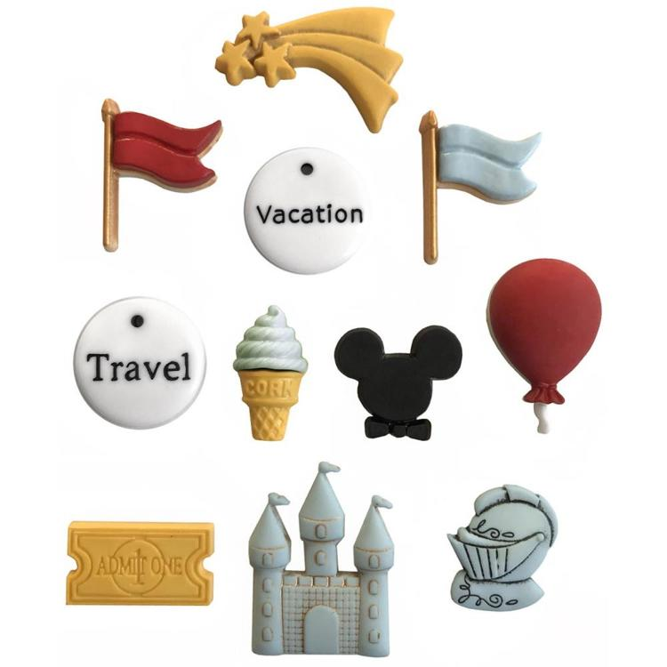 55712 Buttons Galore Button Theme Pack Disney (4338).