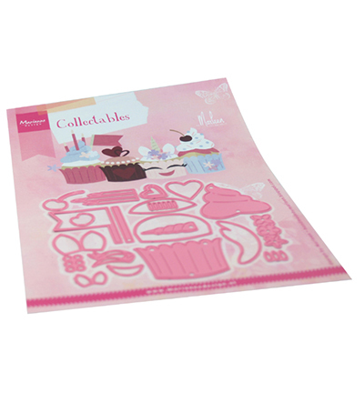 55825 Marianne Design Collectable  Cupcakes by Marleen (COL1481).