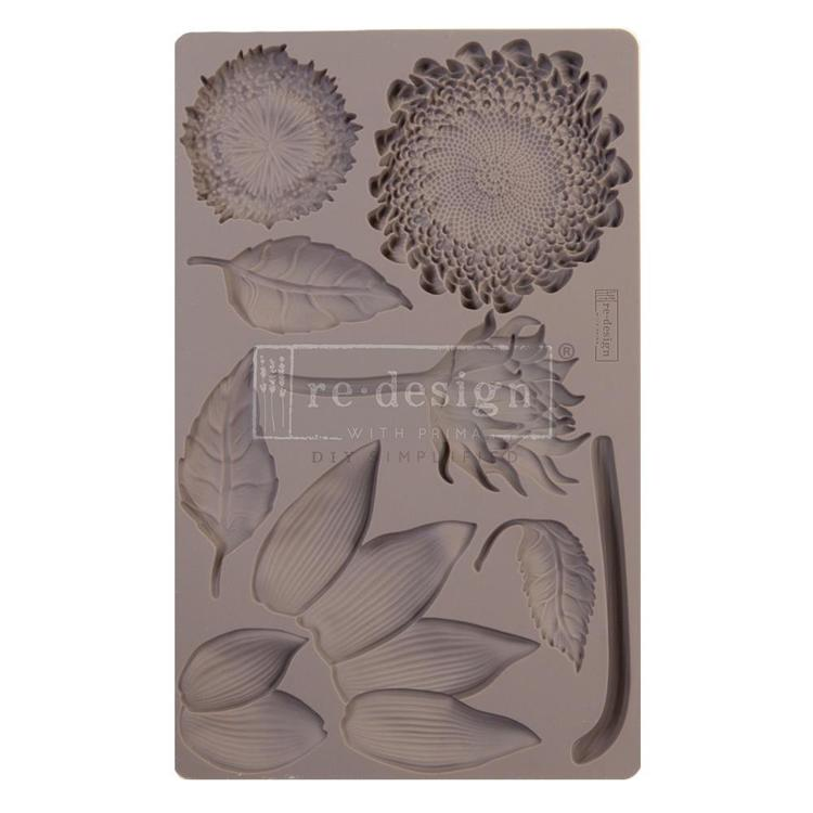 "55833 Prima Marketing Re-Design Mould 5""X8""X8mm Forest Treasures (641061)."