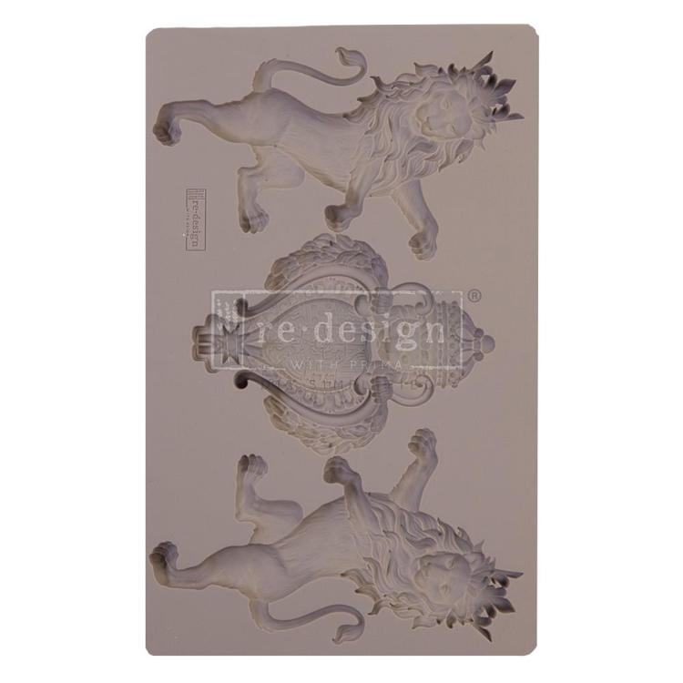 "55834 Prima Marketing Re-Design Mould 5""X8""X8mm Royal Emblem (647414)."