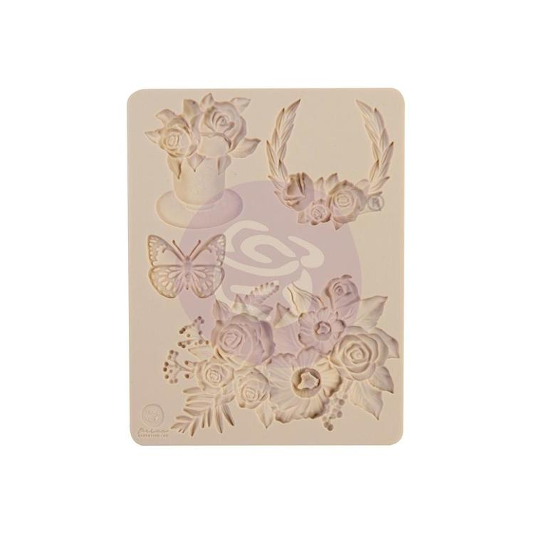 "55835 Prima Marketing Decor Mould 3.5""X4.5""X8mm Pretty Mosaic (647971)."