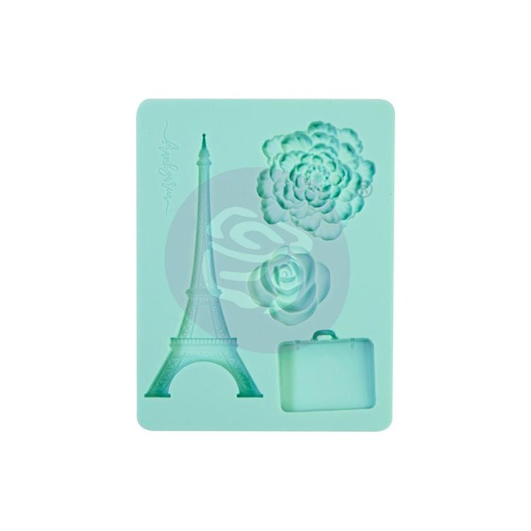 "55836 Prima Marketing Decor Mould 3.5""X4.5""X8mm Capri (996079)."