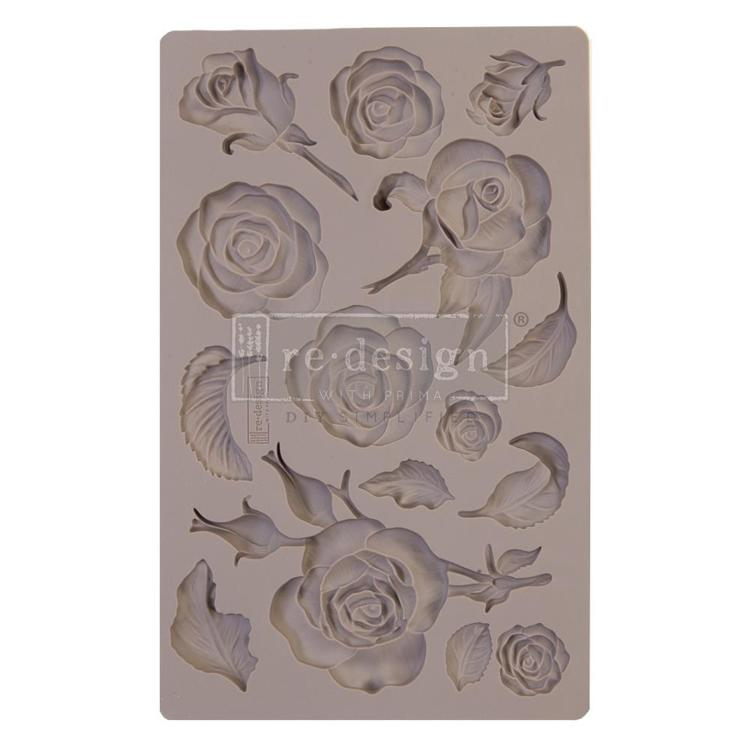 55947 Prima Marketing Re-Design Mould 20x12,5x0,8 cm Fragant Roses (644901).