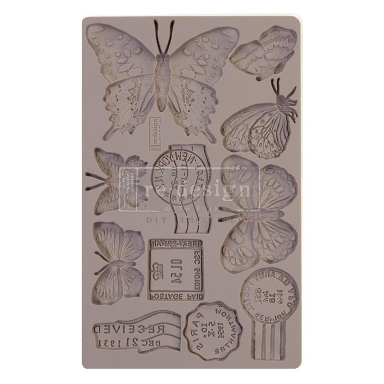 55949 Prima Marketing Re-Design Mould 20x12,5x0,8 cm Butterfly in Flight (643140).