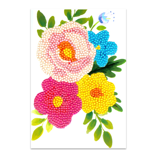 56227 Craft Artist Diamond Art Card Kits - Flower.